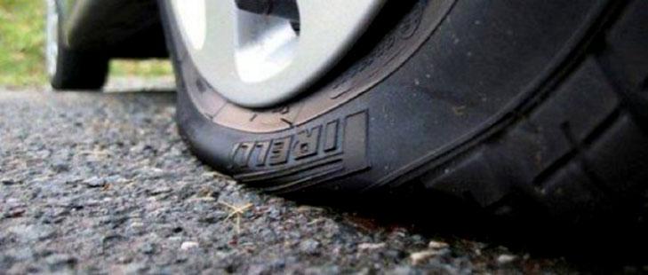 Слишком низкое давление приводит к быстрому износу шин