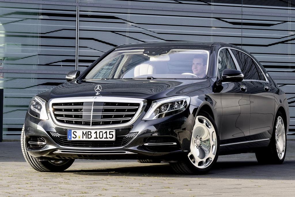 Роскошный седан Mercedes-Maybach S-Class