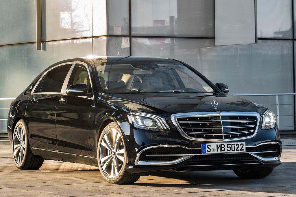 Обновленный Mercedes-Maybach S 2018
