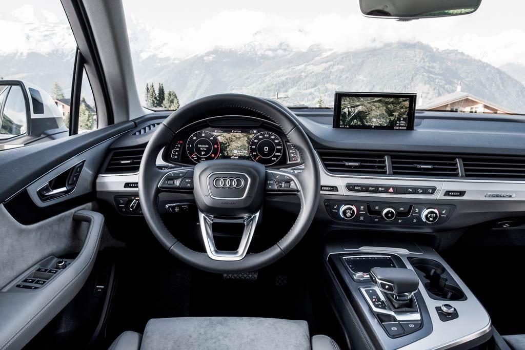 Салон Audi Q7 II