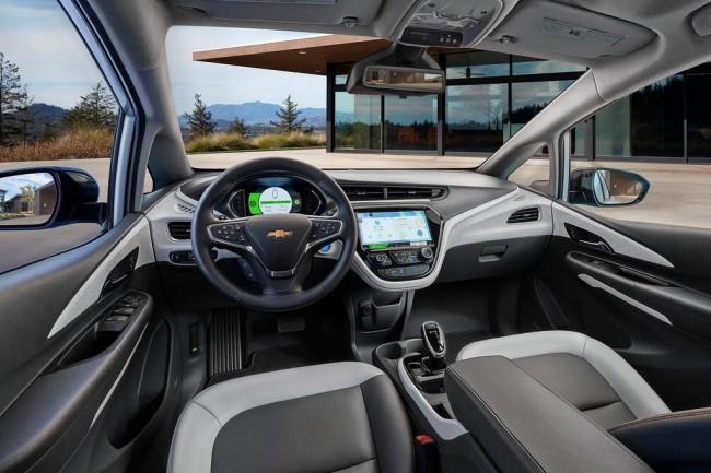 Салон Chevrolet Bolt