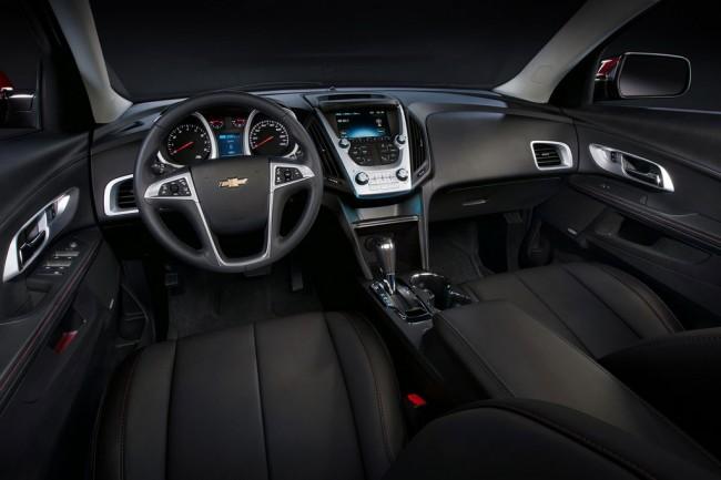 Салон Chevrolet Equinox 2