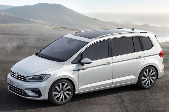 Новый компактвен Volkswagen Touran 3