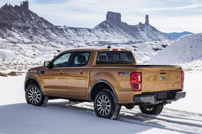 Ford Ranger T6 для США