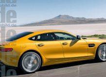 Рендер Mercedes-AMG GT4