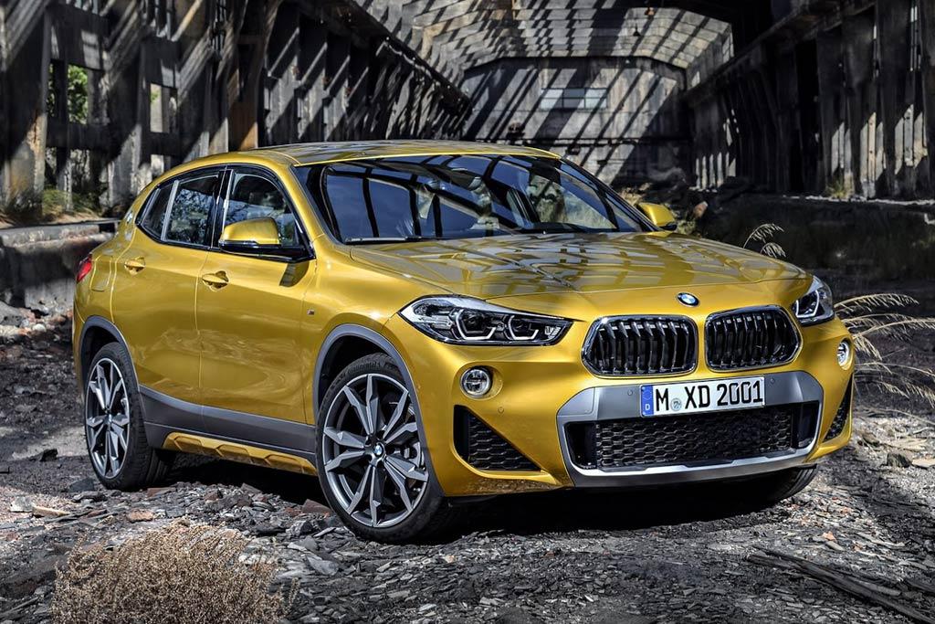 BMW X2 2018 в новом кузове