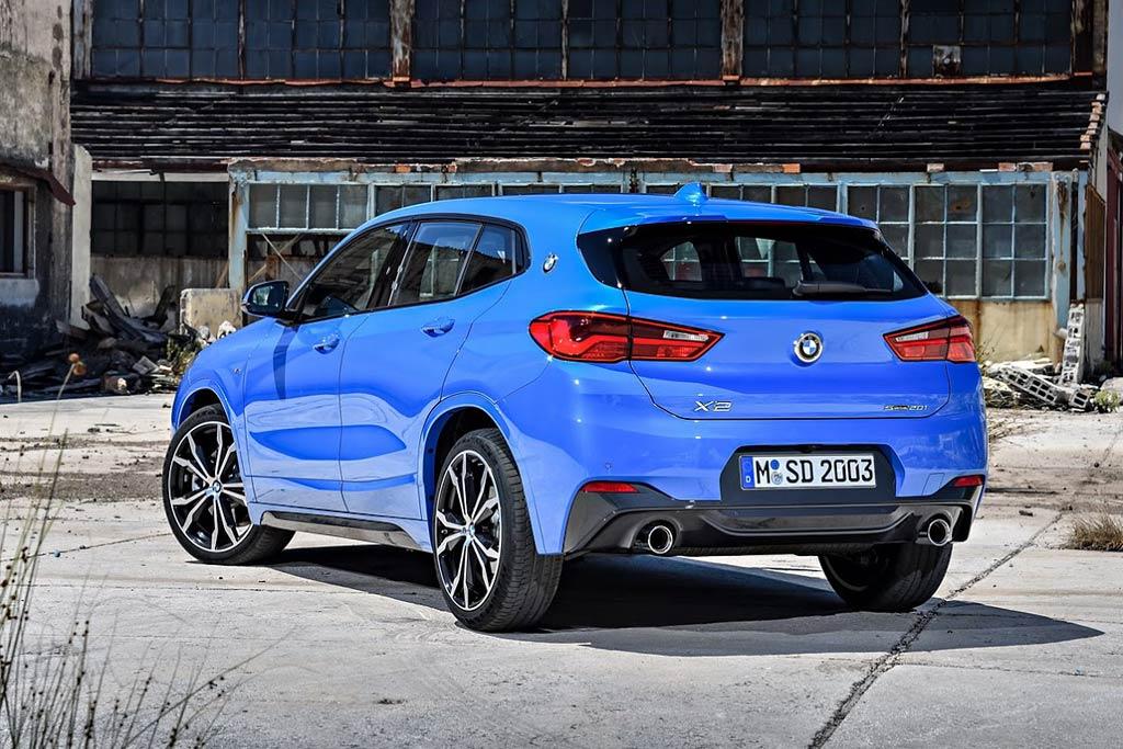 Новый BMW X2 2019