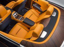 Интерьер Rolls-Royce Dawn