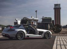 Фото тюнинг Mercedes SLS от Prior Design