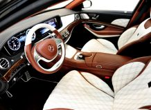 Салон Brabus Mercedes-Maybach S600
