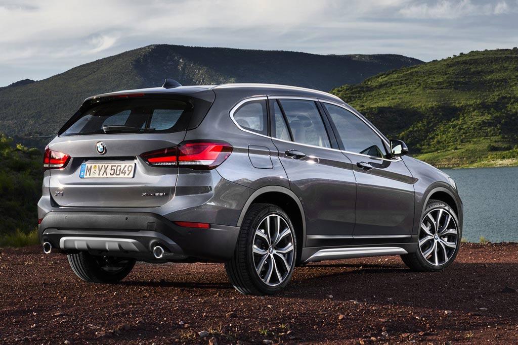 Новый кузов BMW X1 F48