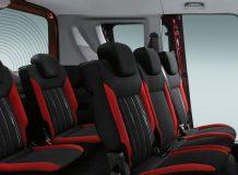 Интерьер пассажирского Fiat Doblo II