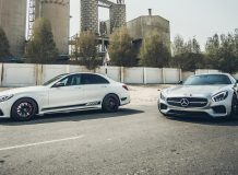 Фото Mercedes-AMG GT и C63 от PP-Performance