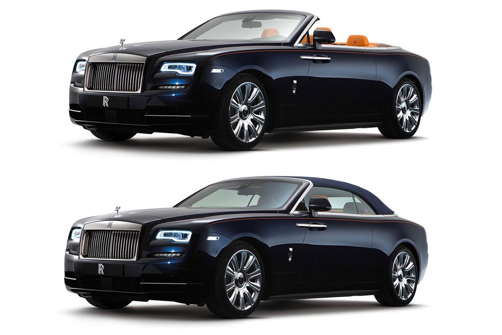Фото нового кабриолета Rolls-Royce