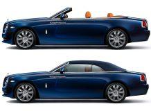 Новый Rolls-Royce Dawn фото