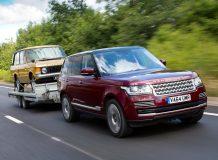 Range Rover с системой Transparent Trailer