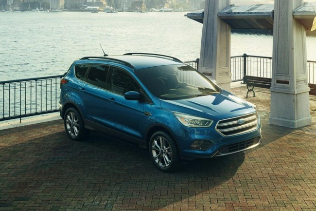 Обновленный Ford Escape 2016
