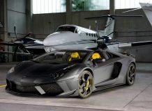 Lamborghini Aventador Carbonado Apertos фото