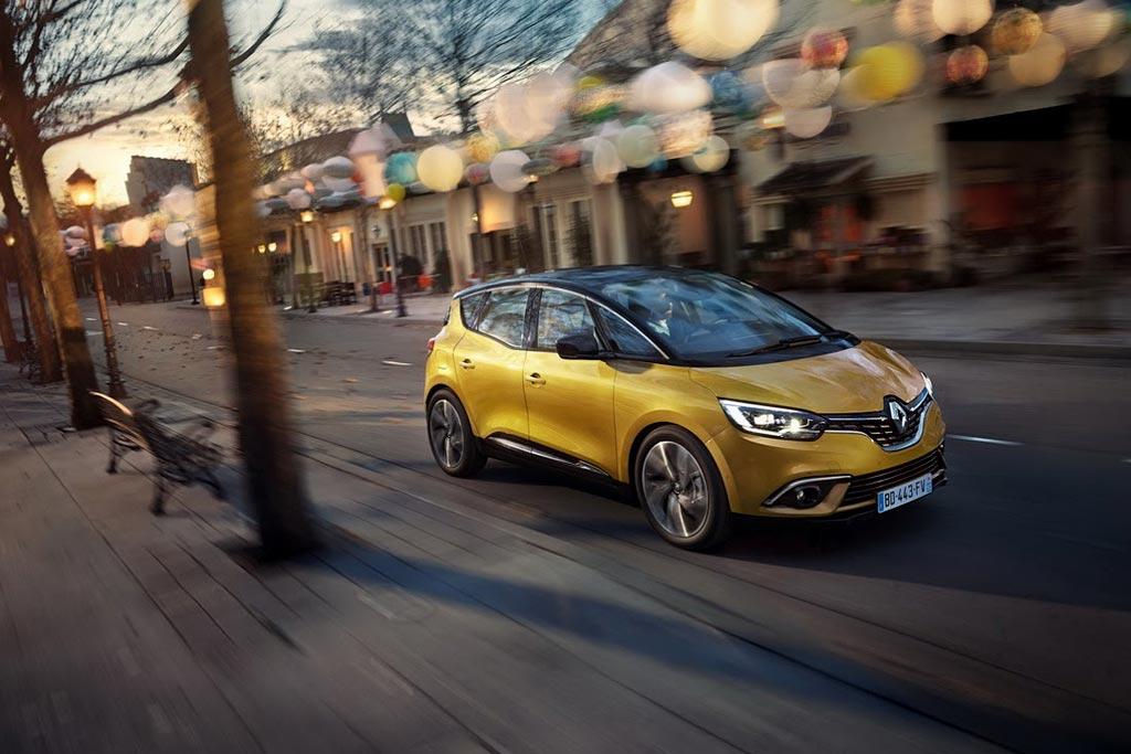 Новый Renault Scenic 2016 фото