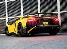 Фото тюнинг Aventador SV от Wheelsandmore