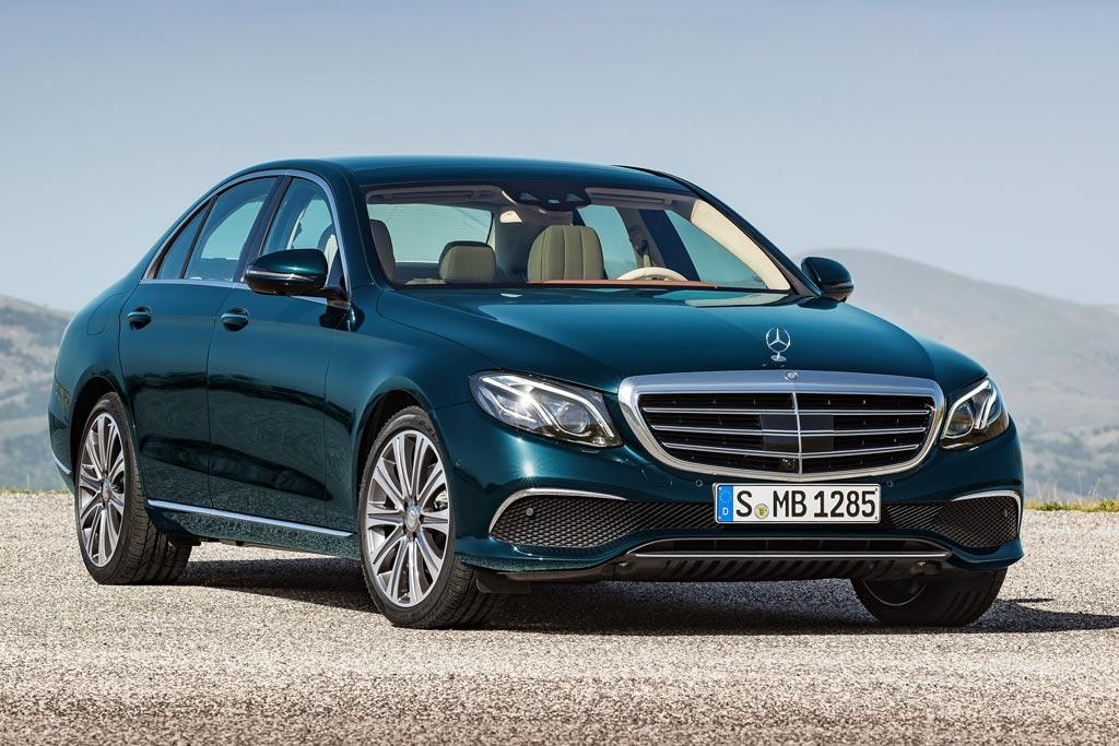 Новая модель Mercedes E-Class 2018