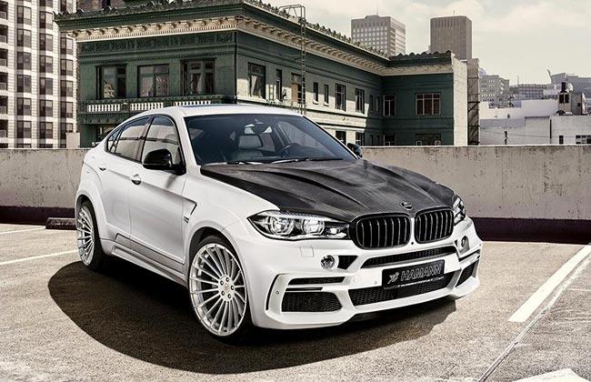 Обвес на BMW X6 M50d от Hamann фото