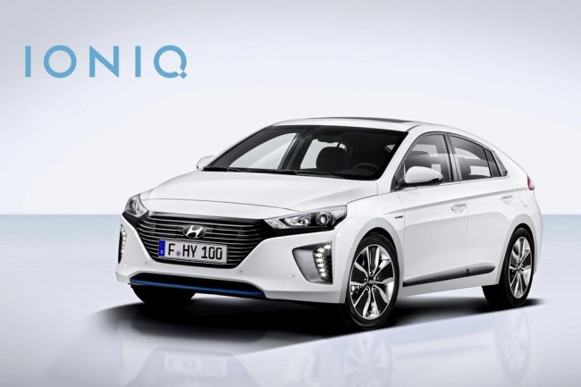 Гибридный Hyundai Ioniq