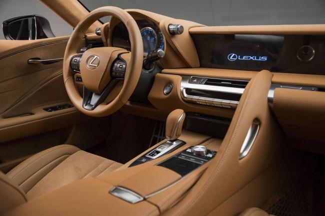 Салон Лексус LC 500