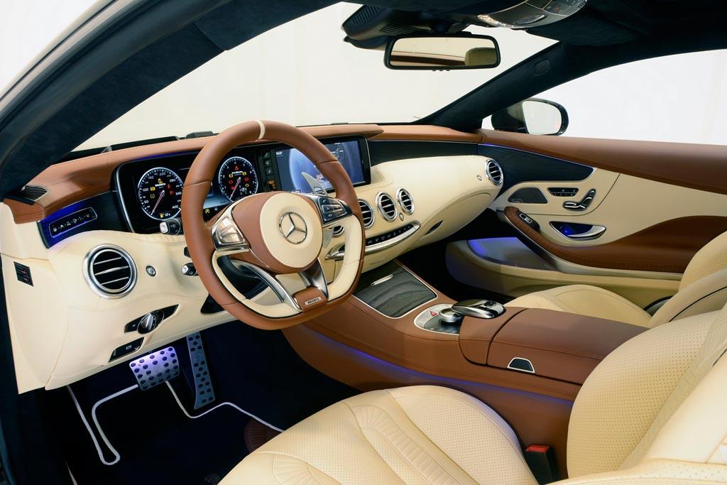 Тюнинг салона Мерседес-АМГ S 65 Coupe от Brabus
