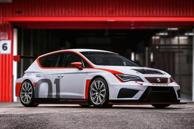 Гоночный SEAT Leon Cup Racer TCR