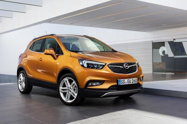 Обновленный Opel Mokka X