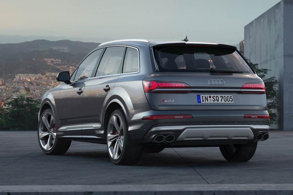 Новый Audi SQ7 2021 года