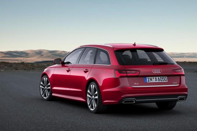 Новая Audi A6 Avant 2017