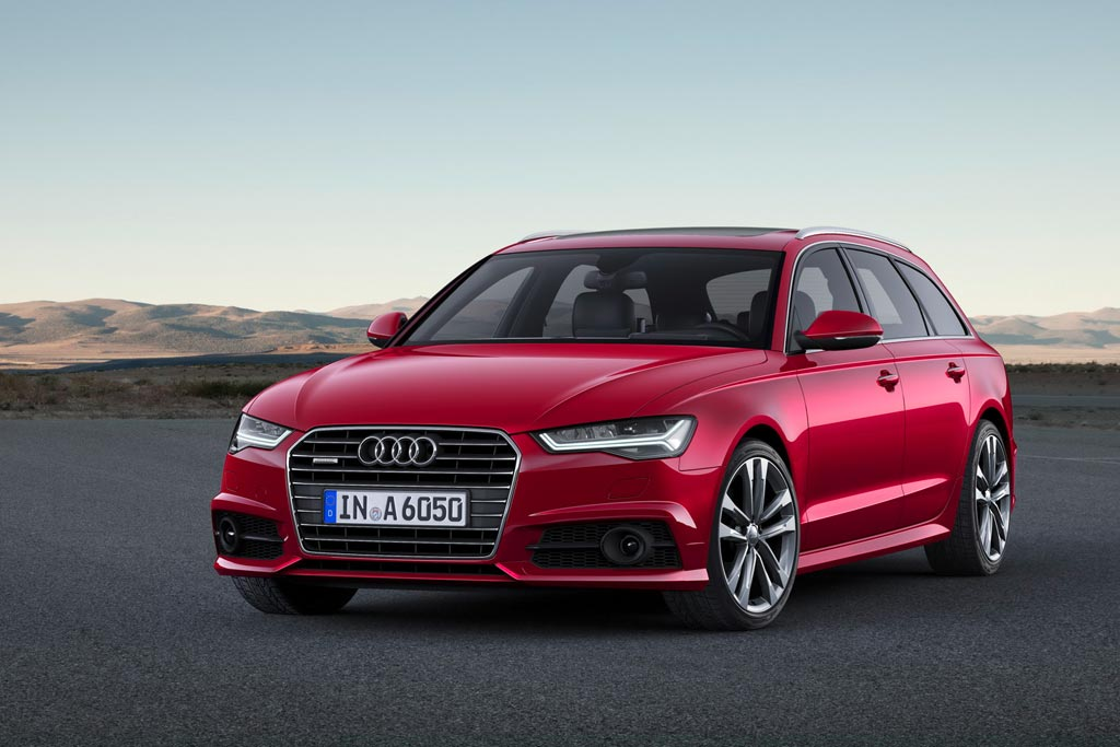 Новая Audi A6 Avant 2017 фото