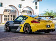 Фото тюнинг Porsche Cayman GT4 от Vorsteiner