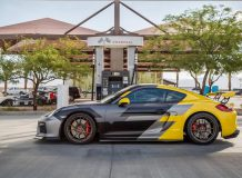 Диски V-FF 106 для Porsche Cayman GT4 фото