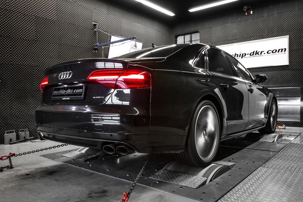 Audi S8 plus от ателье Mcchip-DKR