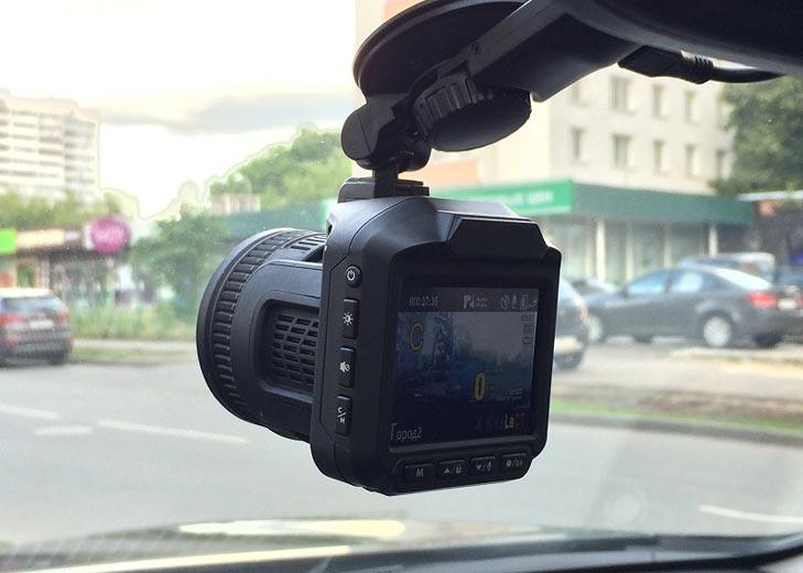 Видеорегистратр с GPS и радар-детектором