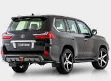 Новый задний бампер Lexus LX от Larte Design