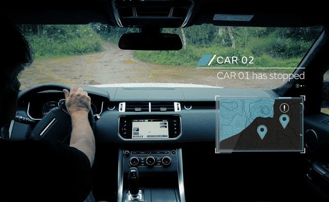 Внедорожный автопилот Range Rover