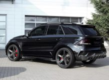 Обвес Infenro для Mercedes GLE фото
