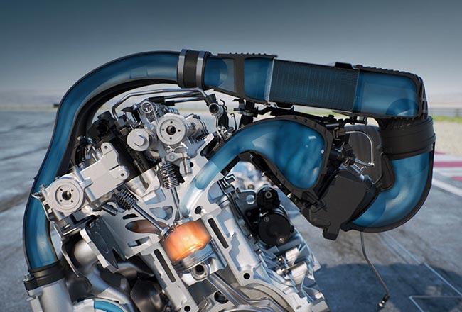 Система впрыска воды от Bosch
