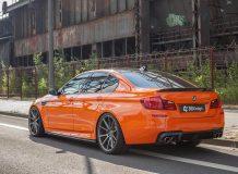 Фото тюнинг BMW M5 F10 от Carbonfiber Dynamics