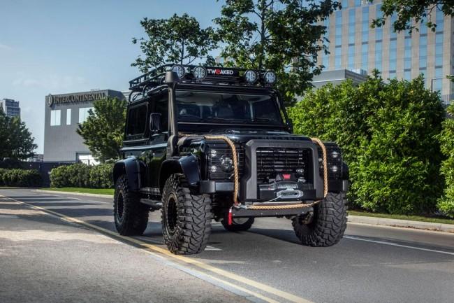 Тюнинг Land Rover Defender 90 от Tweaked Automotive