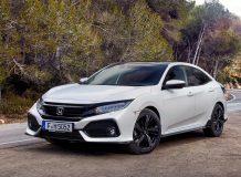Фото Honda Civic 5D 2017 в новом кузове