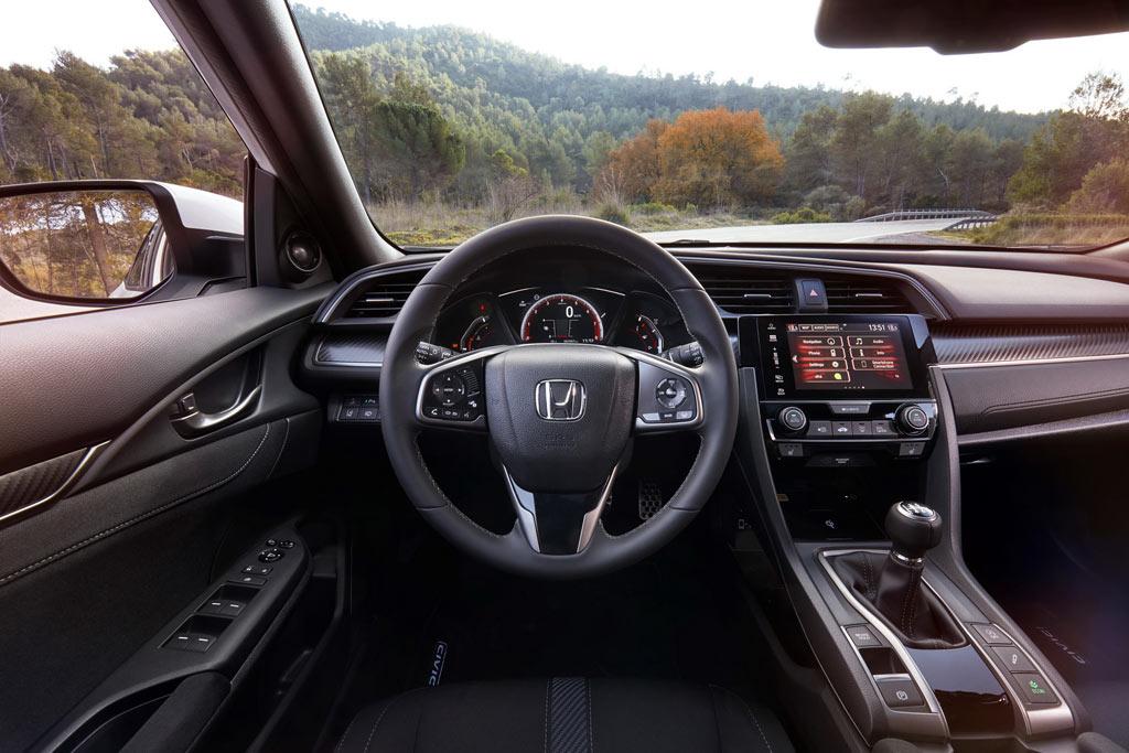 Салон Хонда Цивик 10 5Д