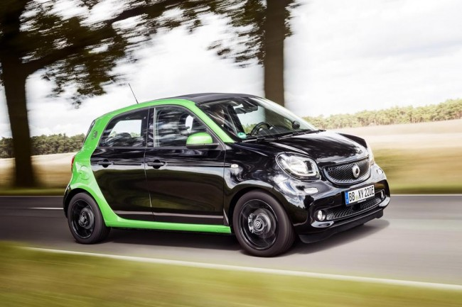 Электрический Smart ForFour 2 EV
