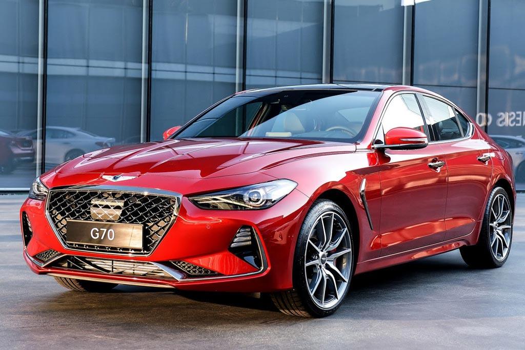 Новый седан Genesis G70 Sport
