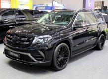 Фото Mercedes GLS Black Crystal