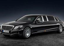 Фото бронированного Mercedes-Maybach S600 Pullman